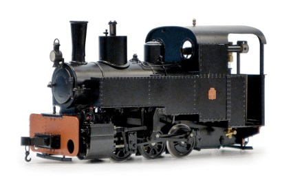 Decauville 0-6-0T Locomotive.